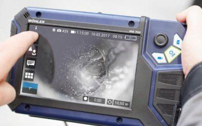 Wöhler tarkastuskamerat HD-kuvalla