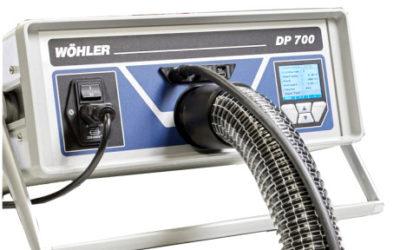 Wöhler DP 700 – ammattilaisen työkalu ilmanvaihdon tiiviystestauksiin