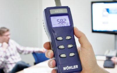 Wöhler KM 410 – monipuolinen sisäilman laadun mittari